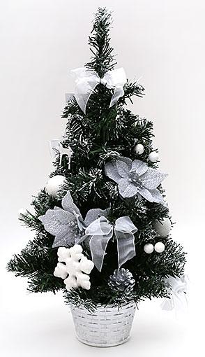 Декоративная елка в горшке, 50см