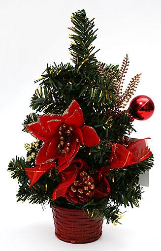 Декоративная елка в горшке, 25см