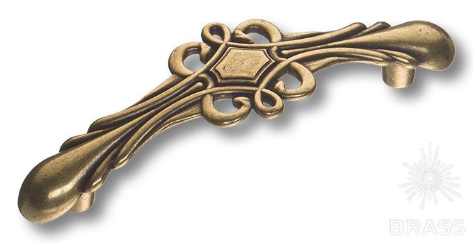 15.117.96.12 Ручка скоба современная классика, античная бронза 96 мм