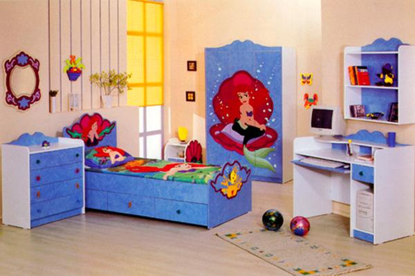 С любимой русалочкой и засыпать не страшно, и вставать весело!