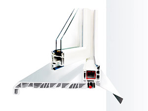 Профиль окна - подоконники Danke
