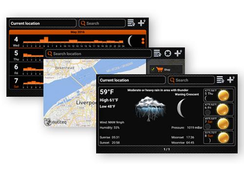 Получите полный контроль над всеми гидроакустическими функциями с помощью мобильного приложения Deeper.