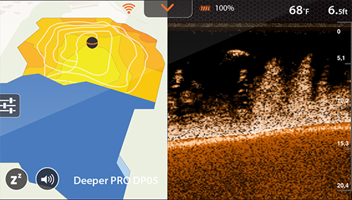 Создание карт глубин