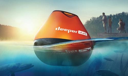Deeper Start имеет отличные показатели дальности заброса (50 м) и глубины сканирования (50 м)
