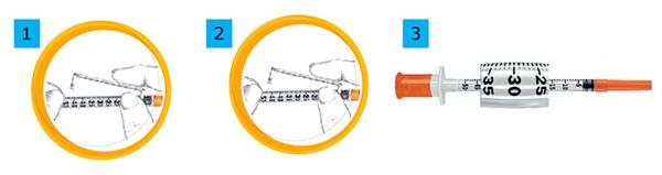 Стерильні інсулінові шприци INSUMED U-100 1 мл з голкою 30G х 8 мм (0,30 х 8 мм)