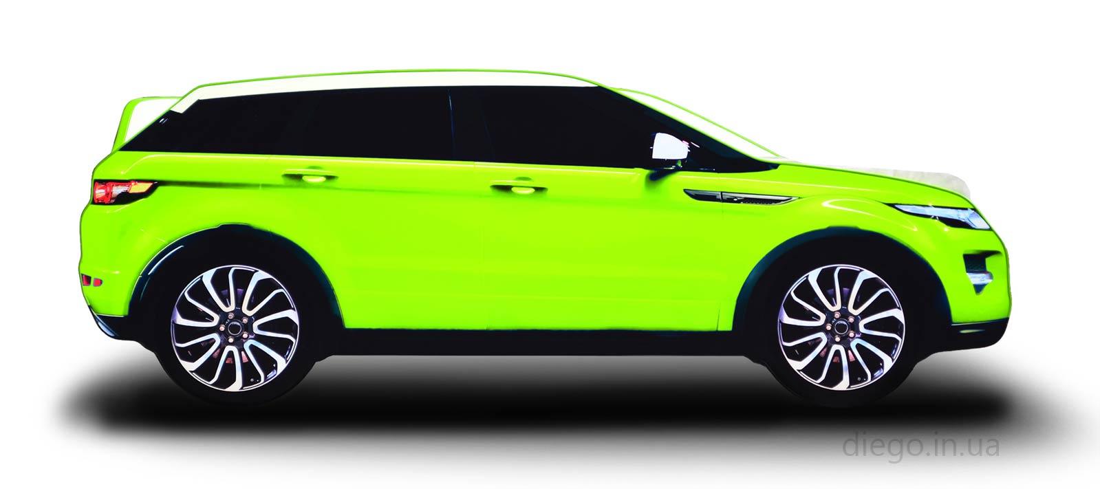 Кровать Evolution зеленого цвета