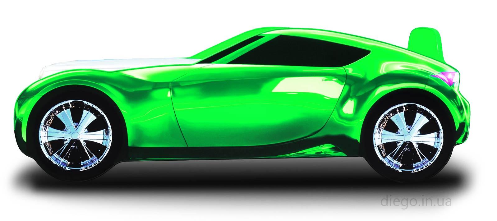 Кровать Galaxy зеленого цвета