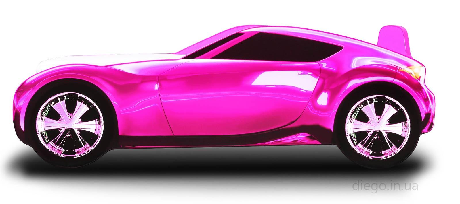 Кровать Galaxy розового цвета
