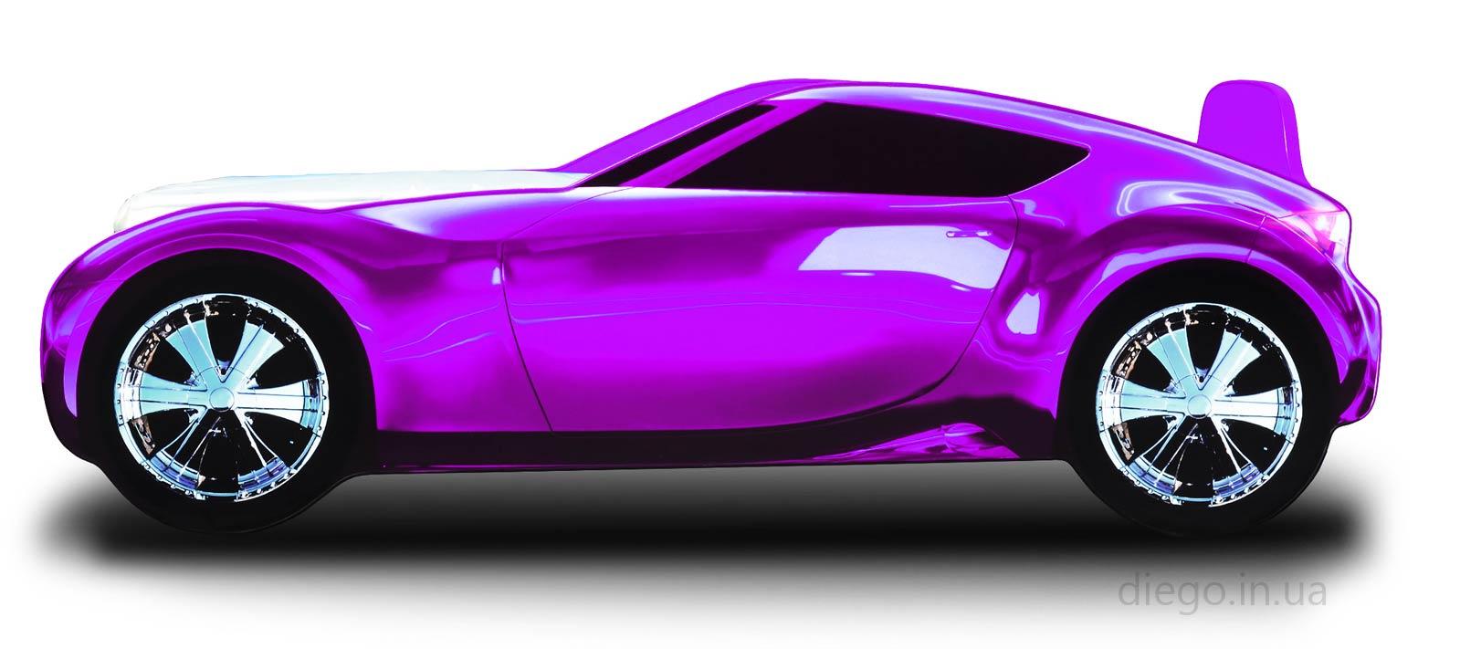 Кровать Galaxy фиолетового цвета