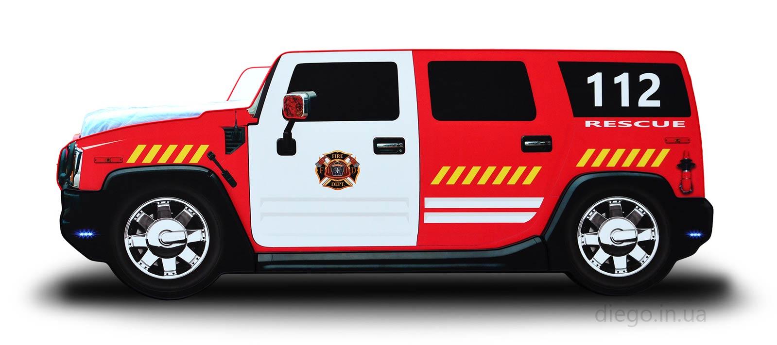 Пожарный Джип