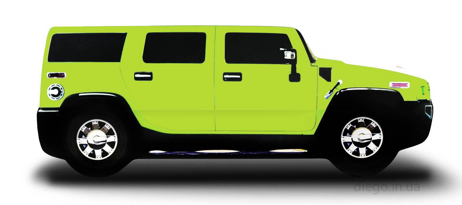 Кроватка зеленого цвета