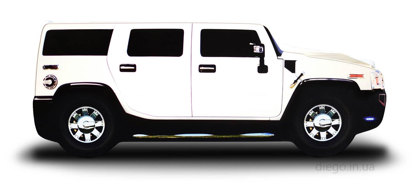 Джип белого цвета