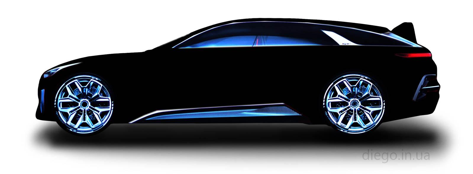 Кровать Universal GT черного цвета