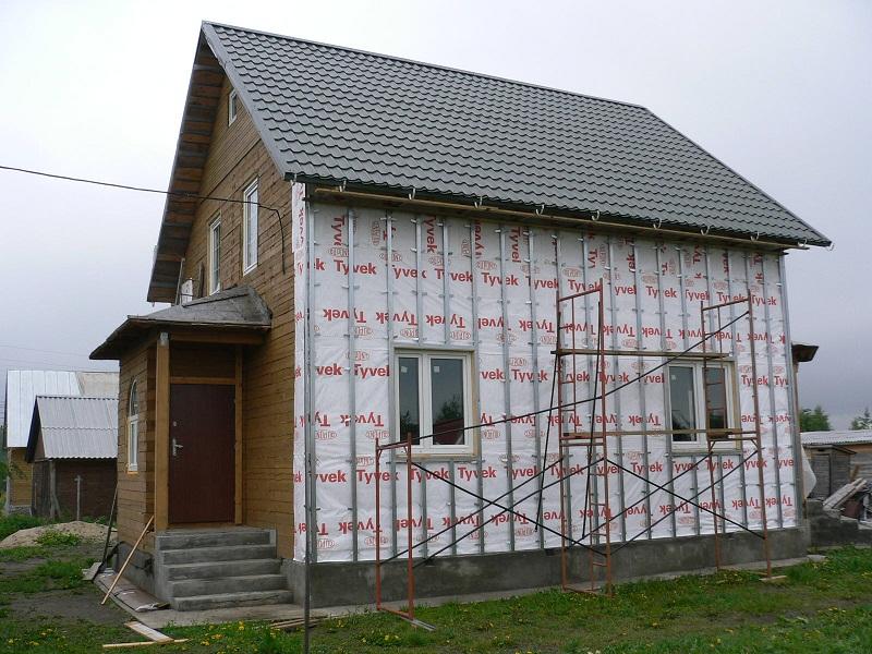 Особенности наружного утепления деревянного дома