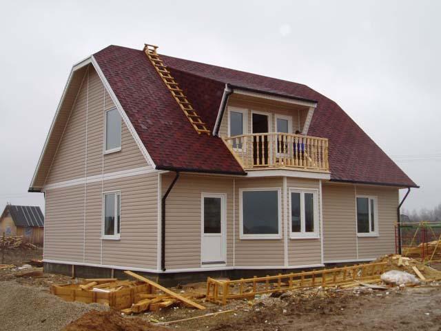 Плюсы и минусы домов, построенных по канадской технологии