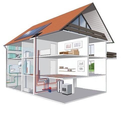 Монтаж инженерных систем в собственном доме
