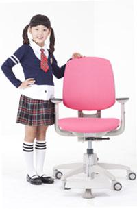 Кресло Duoflex Kids Sponge ― розовое