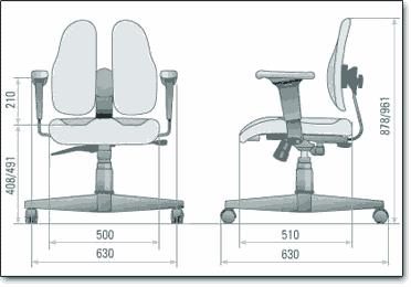 Размеры кресла для врачей
