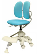 Детское компьютерное кресло Duorest Kids DR-280D ― цвет голубой
