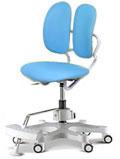 Детское компьютерное кресло Duorest Kids ― цвет голубой