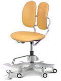 Детское компьютерное кресло Duorest Kids макс ― цвет желтый