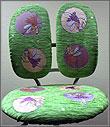 Съёмные шениловые чехлы для детских кресел