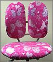 Съёмные шенилловые чехлы для детских кресел