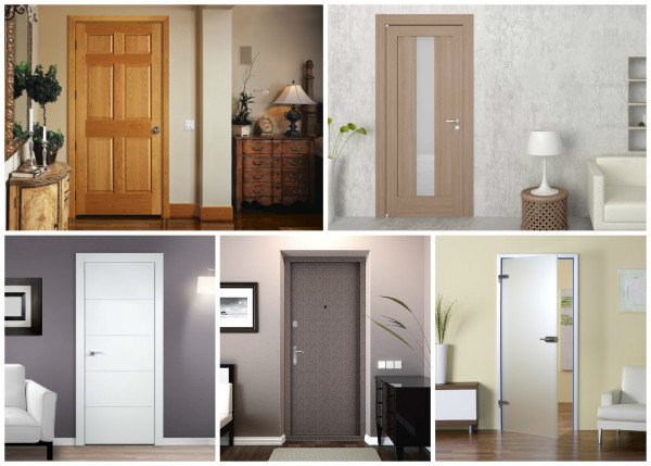Межкомнатные двери из различных материалов