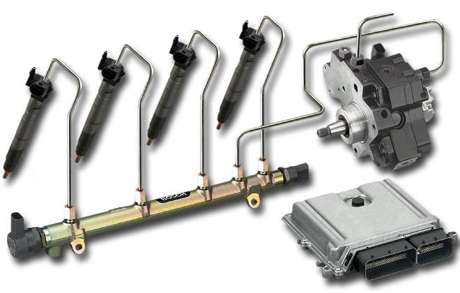Топливная система двигателя