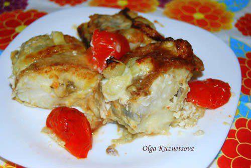 Жареная рыбка из духовки / Кулинарный рецепт от Едим дома