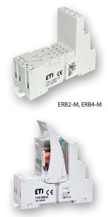 Цоколи ERB-M ETI