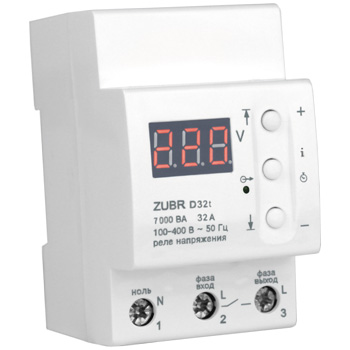 защита от перенапряжения zubr D32t