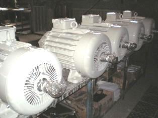 Электродвигатели для кранов