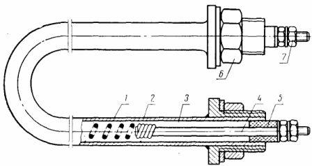 Трубчатый электронагреватель (ТЭН) герметического исполнения