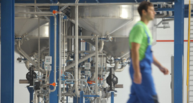 Цеха завода по производству ЛКМ Eskaro Ukraine в Одессе