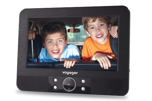 Фото Автомобильный портативний DVD-проигрыватель - комплект  VOYAGER, VYDVD7-PP