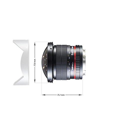 Фото WALIMEX Pro 8mm f/3.5 Fish eye II