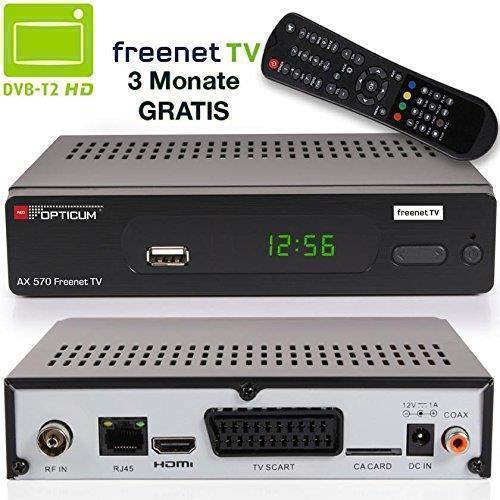 Описание OPTICUM, AX 570 freenet TV