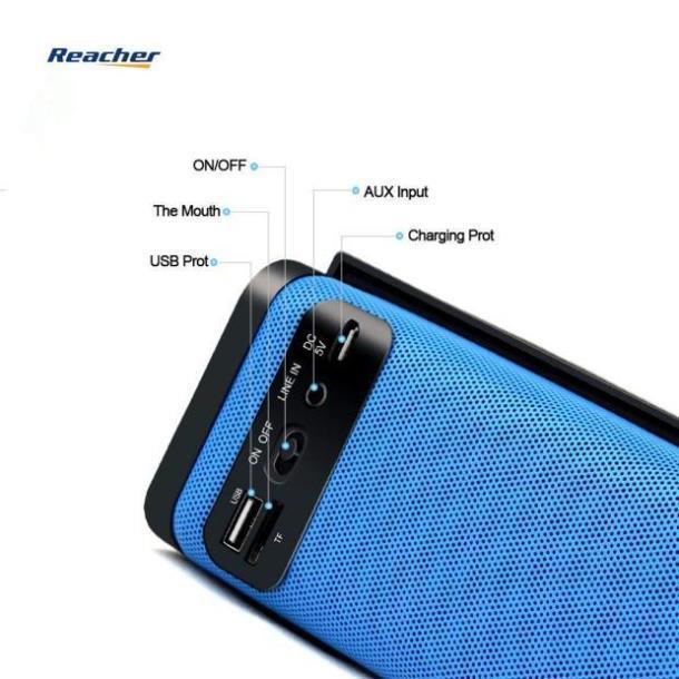 Характеристики Портативная колонка Bluetooth  REACHER