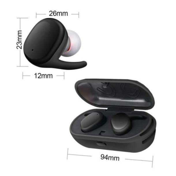 Touch Two TWS1 Black (SL0051)