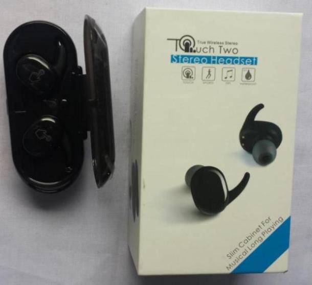 Характеристики Беспроводные Bluetooth наушники TWS  TOUCH TWO, TWS Touch Two