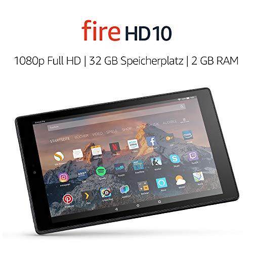 Fire HD 10 32 GB 2017 Black
