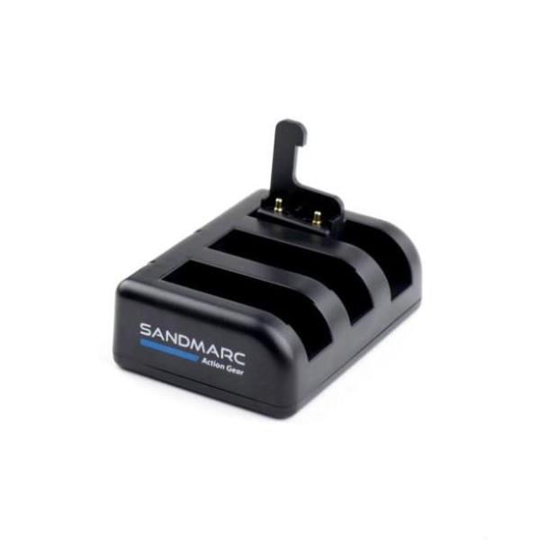 Фото Зарядка для аккумуляторов GoPro Hero 4 / 5 / 6  SANDMARC