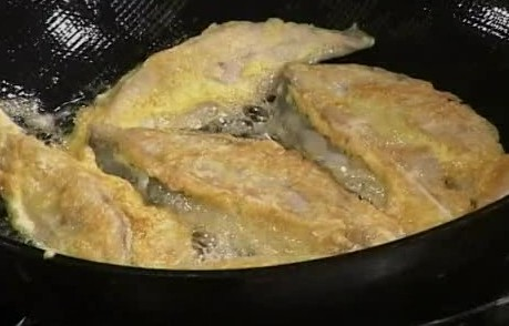 Тушеный серебристый пампус