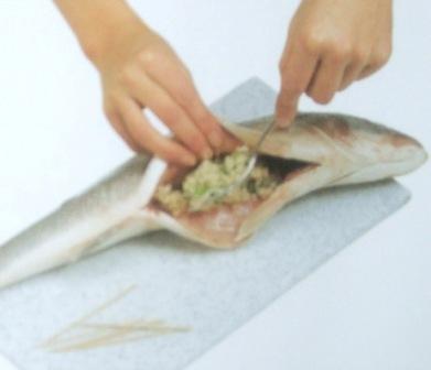 Запеченная рыба со специями