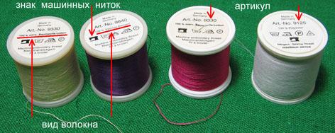 артикул швейных ниток