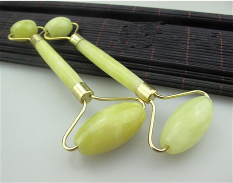 Для лица массаж нефрита ролик здоровый глава тела шеи природа красоты инструмент