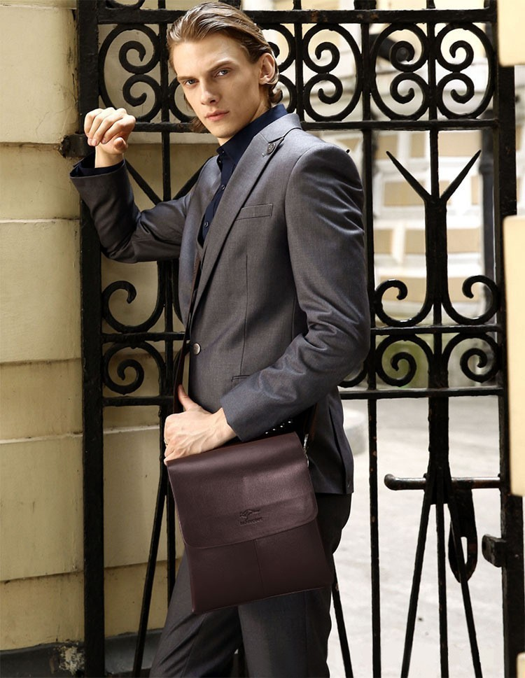 2015 Fashion  famous brand Men Shoulder bags,Men Handbags,Top PU Leather Men Bag, Men Messenger Bag,Briefcases,Crossbody Bags4
