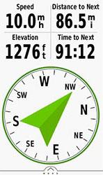 Oregon 700. Навигация