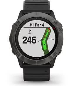 fenix 6X Pro Solar. Функції для гольфу